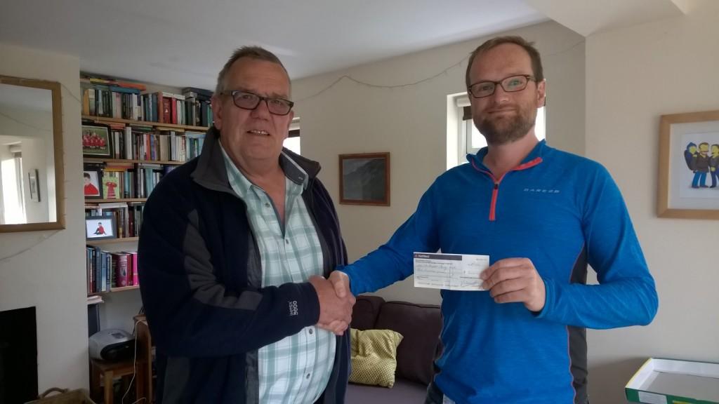 Ian Creasey, £500, and me.